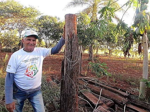 Pedro Rocha no Assentamento 17 de Abril