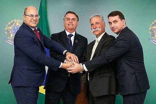 A saída do PSL da base aliada do governo ocorreu dias depois de Witzel admitir que pretende concorrer à presidência da República