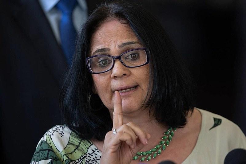 Damares Alves, ministra da Mulher, Família e Direitos Humanos (MMFMH)