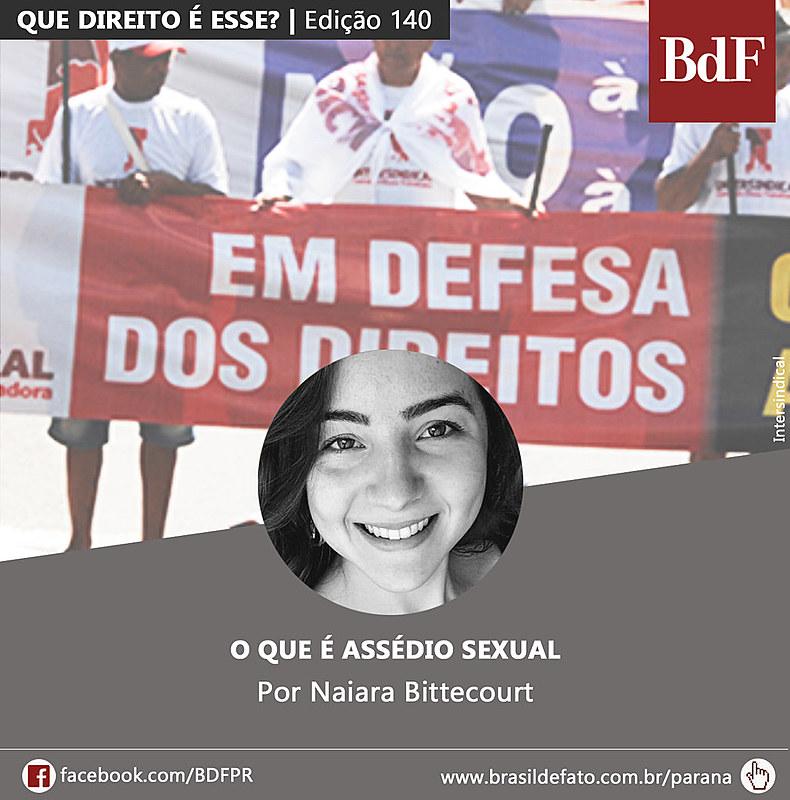 Naiara Bittecourt é colunista do Brasil de Fato Paraná