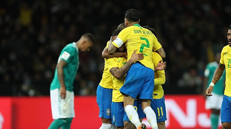 Gabriel Jesus marcou o gol da vitória sobre a Alemanha