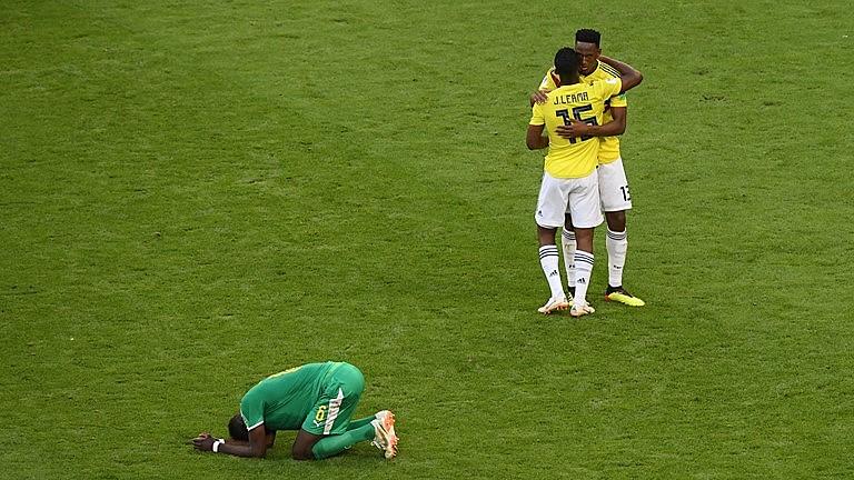 Nesta quinta-feira (28), a Colômbia eliminou Senegal, do técnico Aliou Cissé, e comemorou a classificação