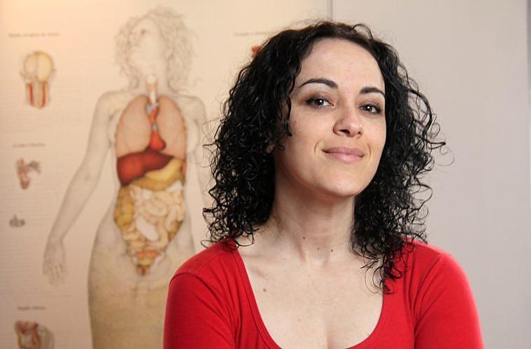 A escritora e filósofa MarciaTiburi