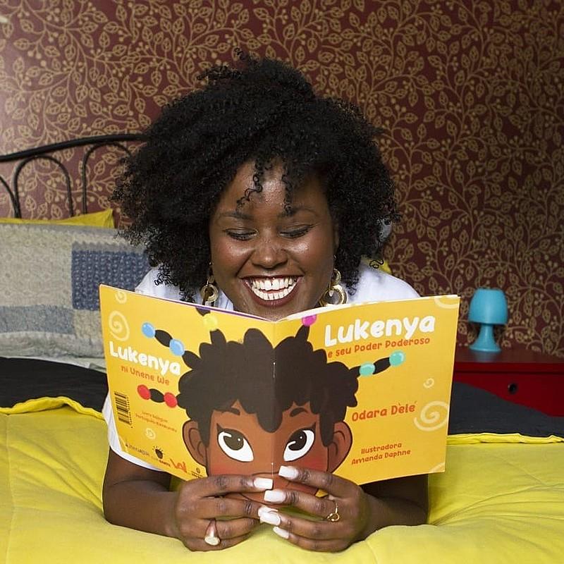 Odara Dèlé lança seu primeiro livro