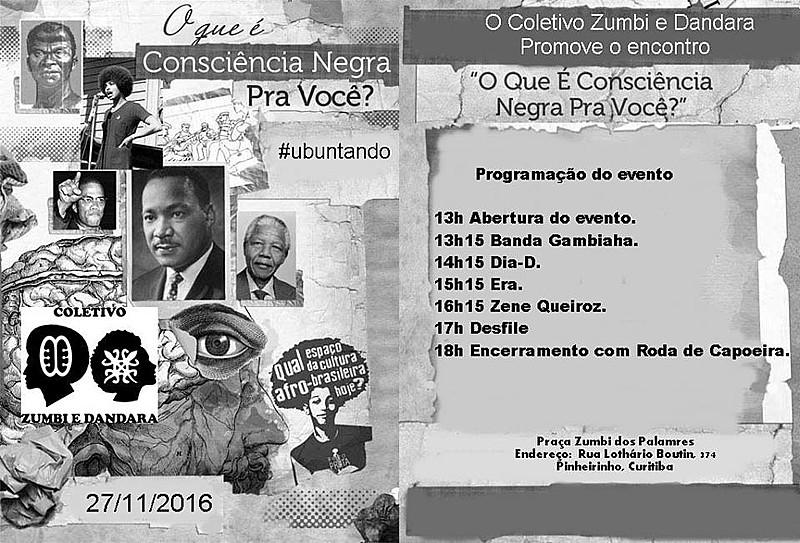 Programação da Semana da Consciência Negra
