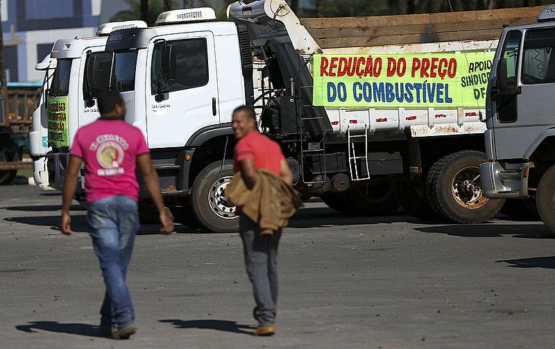 greve caminhoneiros petrobras