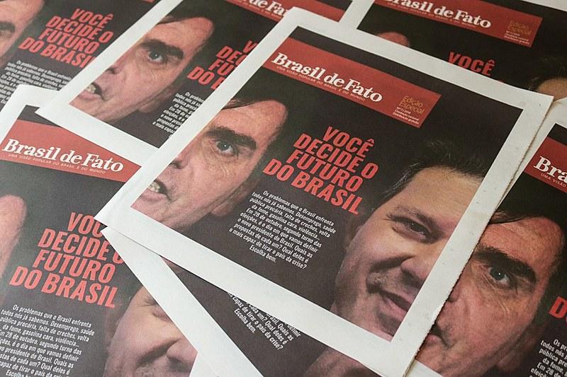Tabloide especial das Eleições 2018 teve 20 mil exemplares apreendidos pela Justiça Eleitoral do Rio de Janeiro