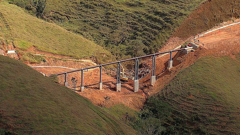 Área da Anglo American do projeto de mineração Minas-Rio