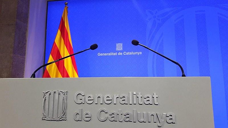 O pedido deprisão provisória se aplica a oito membros destituídos do governo catalão