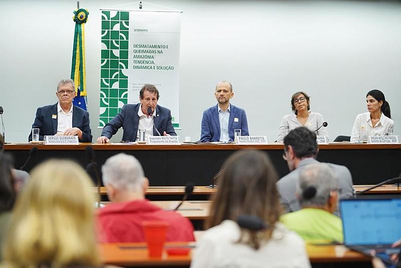 """Seminário  """"Desmatamento e Queimadas na Amazônia: Tendências,Dinâmicas e Soluções"""" reuniu parlamentares e especialistas"""