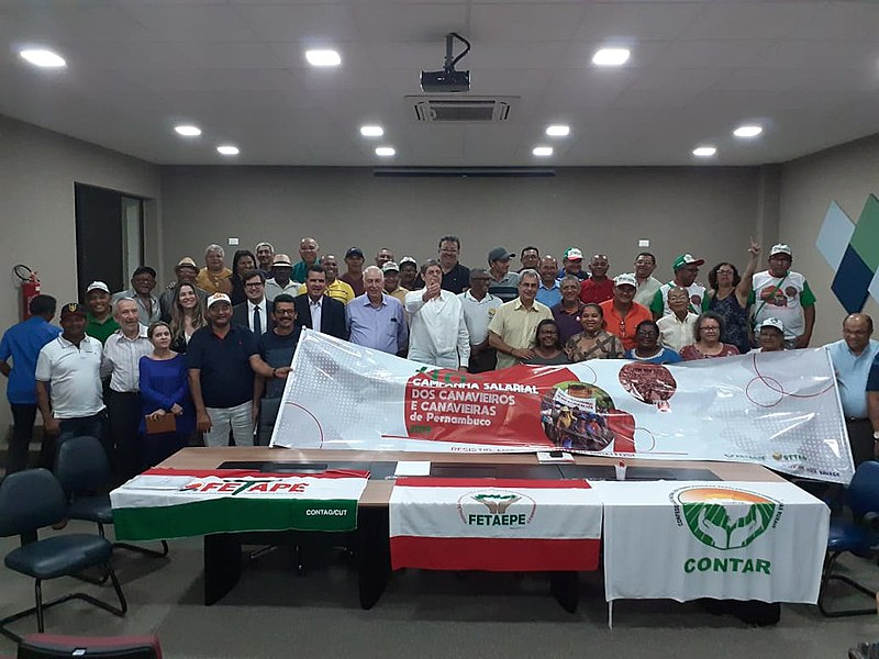 Organizações participaram do processo