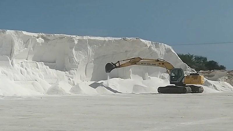 95% de toda a produção de sal do país sai do Rio Grande do Norte