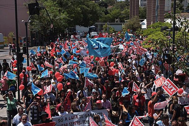 Mobilizaçao em Belo Horizonte (MG)