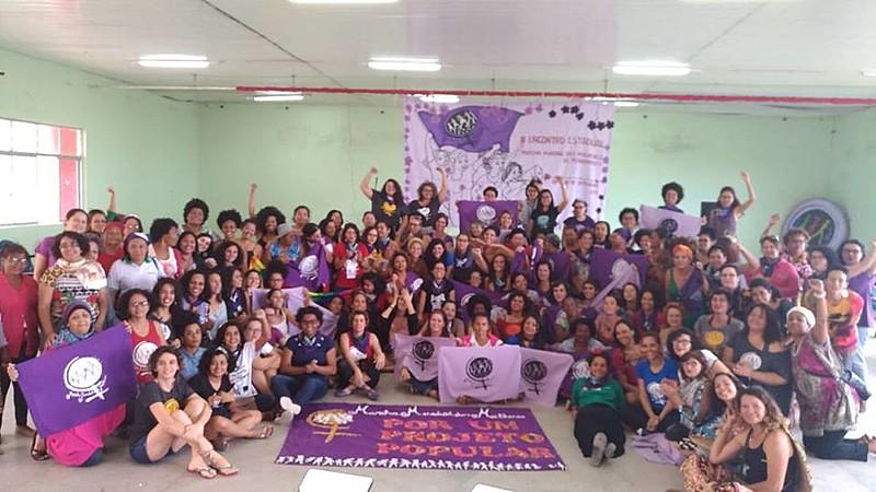 O encontro reuniu mulheres de todos o estado de Pernambuco
