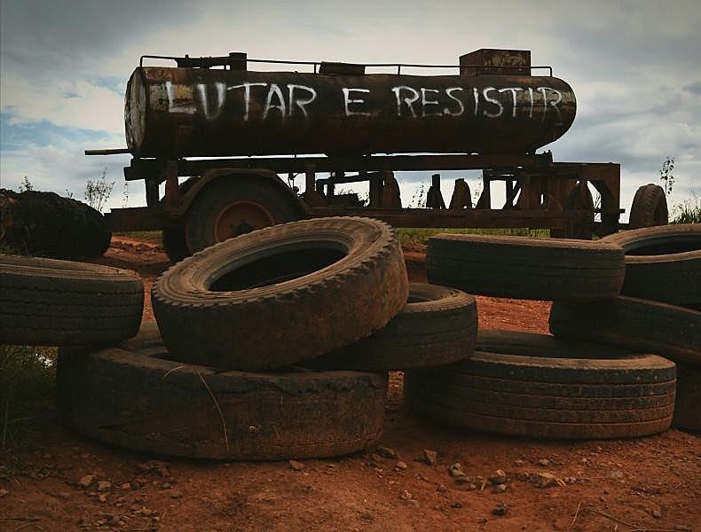 Em Campo do Meio, no sul de MG, 600 famílias resistem à tentativa de despejo