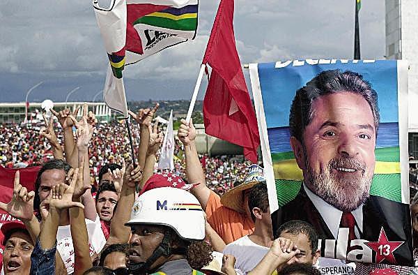 Campanha pelo Partido dos Trabalhadores nas eleições de 2002