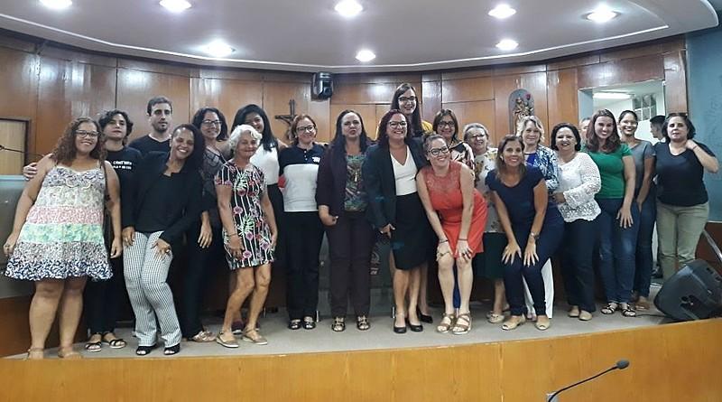 Participantes da audiência pública na Câmara de vereadores de João Pessoa que discutiu a aplicabilidade da Lei