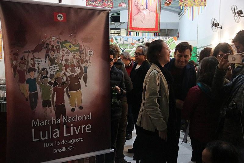 Ato de lançamento da Marcha ocorreu no Armazém do Campo, loja do movimento no centro de São Paulo