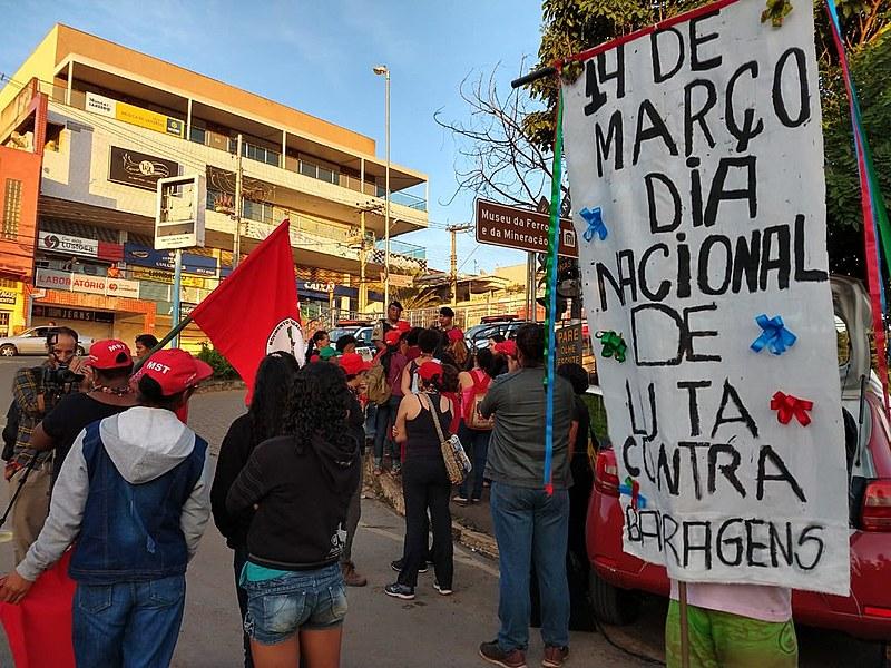 Dia Internacional de Luta Contra Barragens, pelos Rios, pela Água e pela Vida reacende debate sobre impactos da mineração