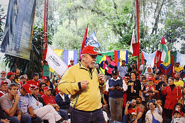 Representantes de organizaciones de todo el mundo estaban presentes en el acto