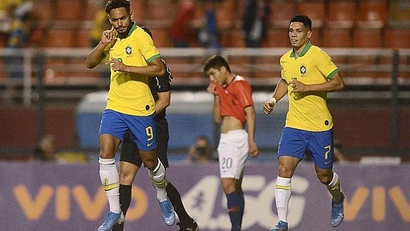 Partida terminou em vitória para os brasileiros