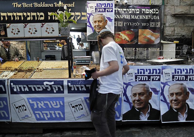 Netanyahu busca se reeleger nas eleições parlamentares israelenses de 2019 que acontecem nesta terça-feira (9)