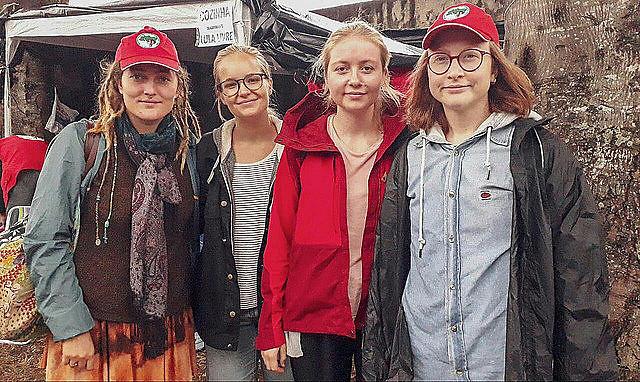 El Comité Noruego de Solidaridad con América Latina  es uno de los colectivos extranjeros que participan del Campamento Lula Libre