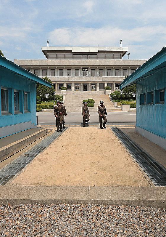 Panmunjeom, local onde os líderes das duas Coreias se reunirão.