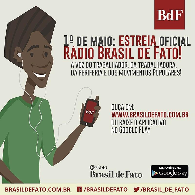 Programa Brasil de Fato Rio de Janeiro também terá participação na Rádio Web Brasil de Fato
