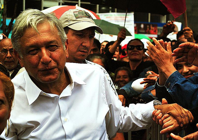 López Obrador está atualmente com cerca de 50% das intenções de voto.