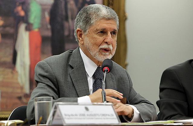 """""""Fico muito preocupado, porque prevê a possibilidade do uso da força"""", afirmou ex-ministro das Relações Exteriores"""