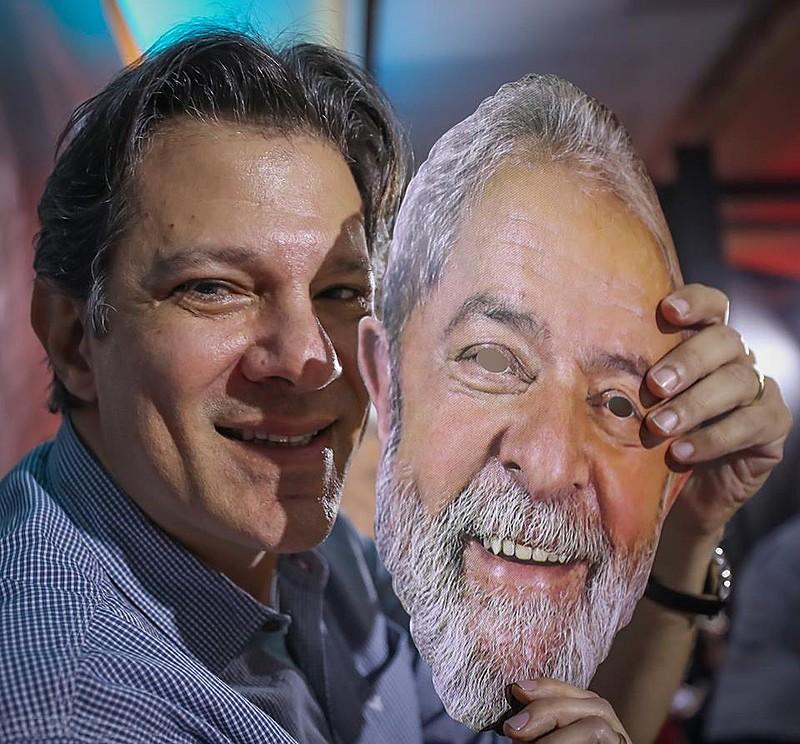 Haddad foi definido como vice em reunião da Executiva do partido; seu nome foi indicado, em carta, por Lula