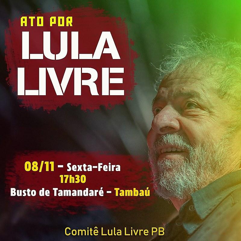 Defesa pediu soltura de Lula, hoje, com base no resultado do julgamento do STF