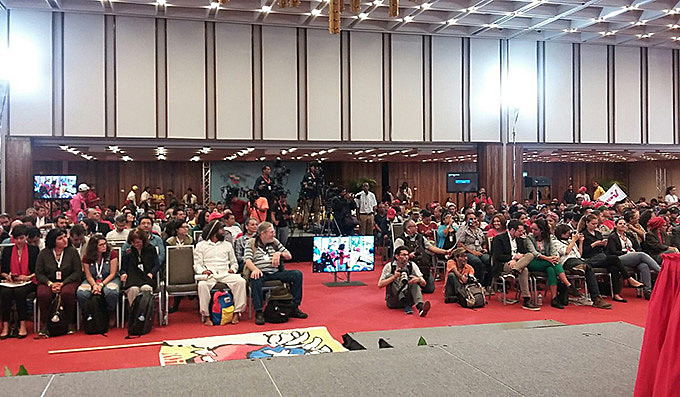 Ao todo, 151 delegados de 38 países participaram do encontro na capital venezuelana