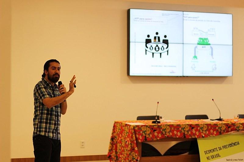 Recaredo Gálvez falou sobre o tema durante seminário em Brasília