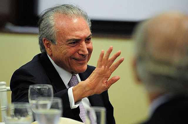 Brazil's ex-president Michel Temer was arrested this morning