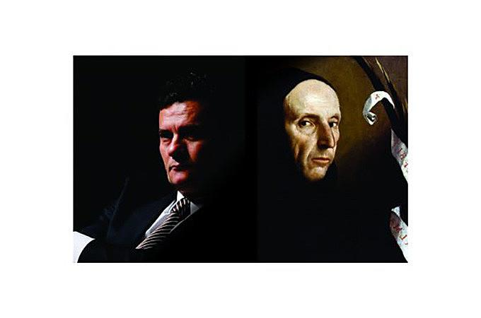 Analogia entre Sérgio Moro e o frade dominicano Jerônimo Savonarola, proposta pelo professor Cerqueira Leite, ainda rende