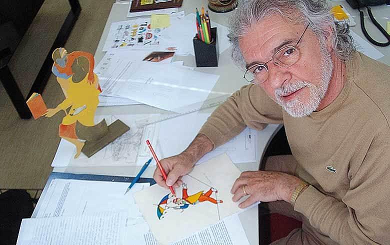 O artista Elifas Andreato encara a arte como um instrumento de luta pela liberdade