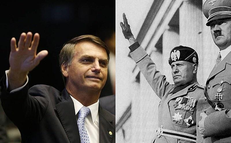 As ideias de Bolsonaro comparadas ao que defendiam Hitler e Mussolini nos anos 30 e 40