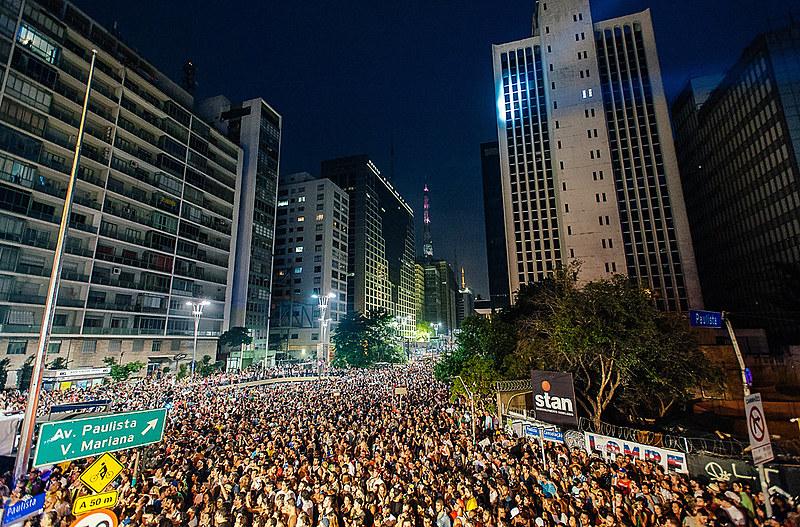 Comemoração dos 462 anos de São Paulo, em 2016