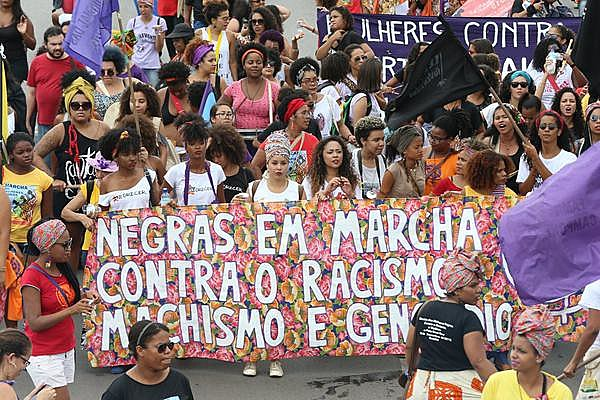 A Marcha das Mulheres Negras foi realizada em novembro de 2015 em Brasília.