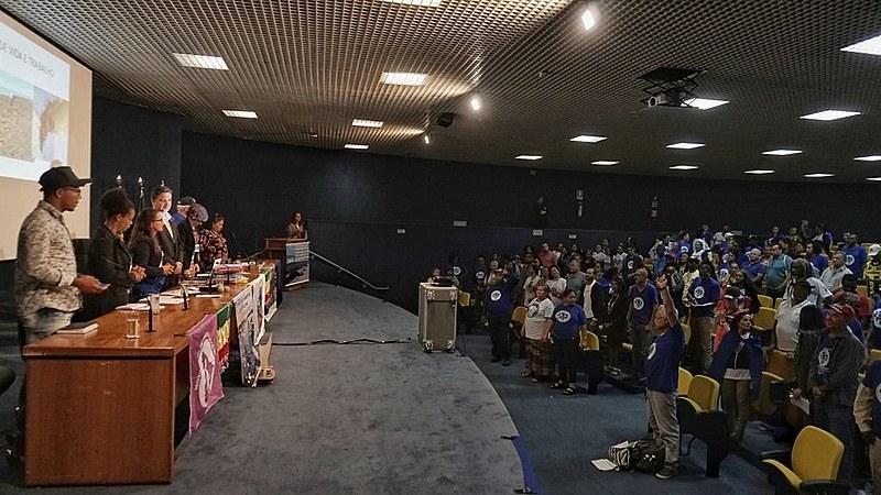 Lideranças se reuniram nesta sexta-feira com o Ministério Público Federal para cobrar ações