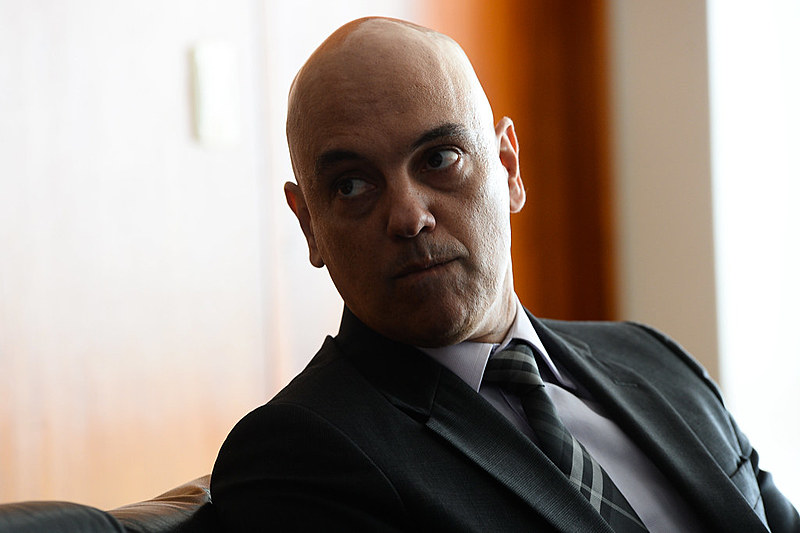 Alexandre de Moraes, ministro que conduz inquérito e que rechaçou posição da PGR
