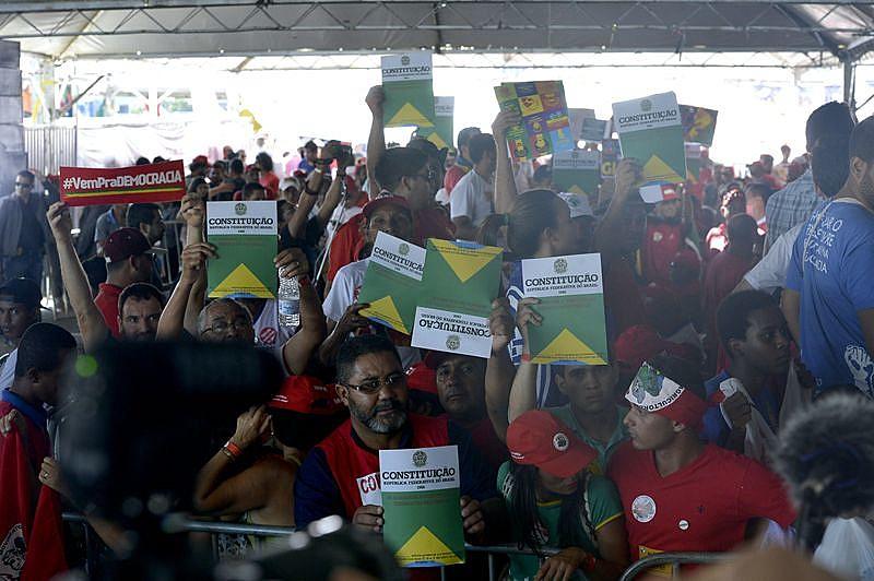Mais de 60 entidades participaram do ato, em Brasília (DF).