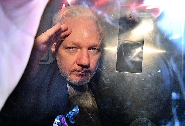 Assange está preso em Londres desde abril de 2019