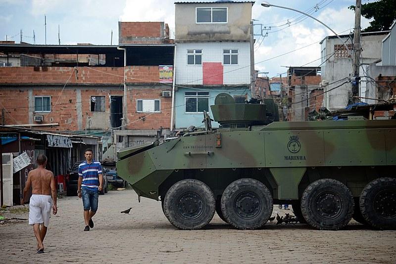 A intervenção  militar  na segurança do Rio completou seis meses na última quinta-feira (16)