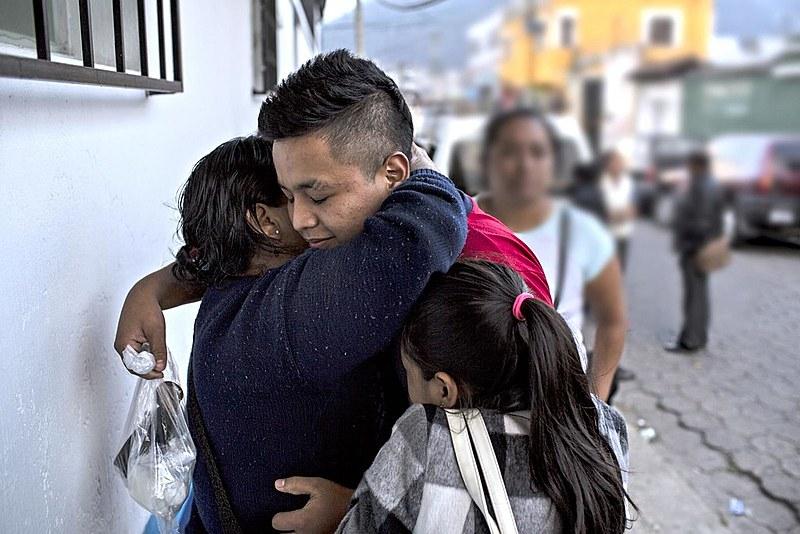 Maior parte dos imigrantes da América Central entra no México tentando cruzar a fronteira para os EUA