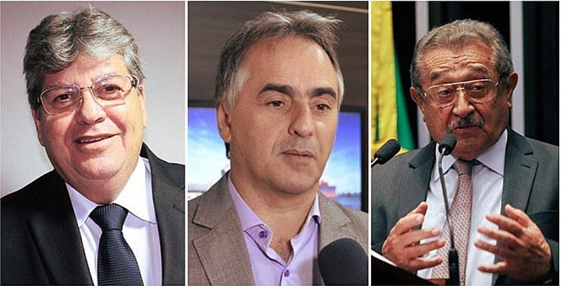 João Azevedo, Lucélio Cartaxo e Zé Maranhão são os candidatos com maior porcentagem de intenção de votos.