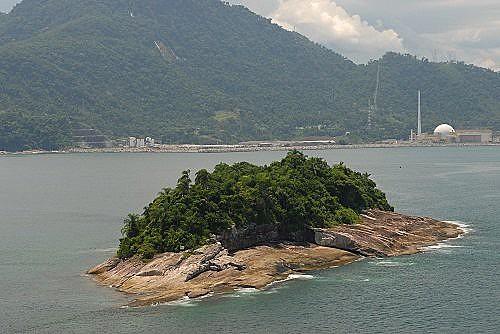 Ilha Samambaia, local onde Jair Bolsonaro foi multado por pesca irregular em 2012