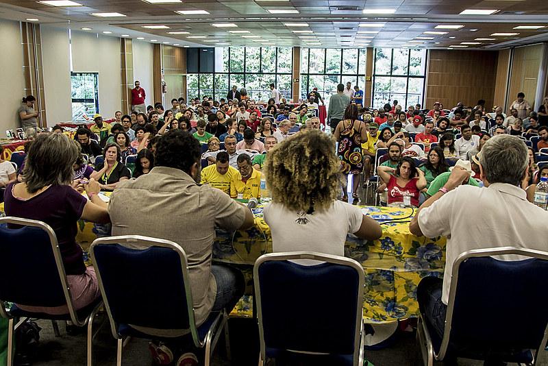 """""""A realização da 1ª Plenária Nacional da Frente Brasil Popular representa um passo decisivo na resistência ao golpe"""""""